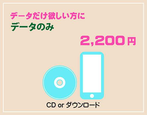証明写真 CDデータ
